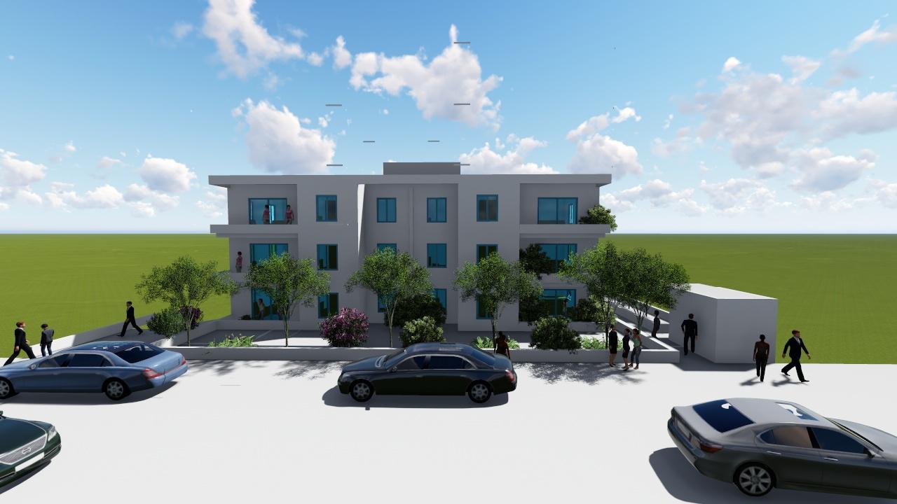 étude de faisabilité architectural pour la conception d'un immeuble collectif